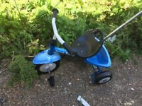 Kettler kids trike with handle