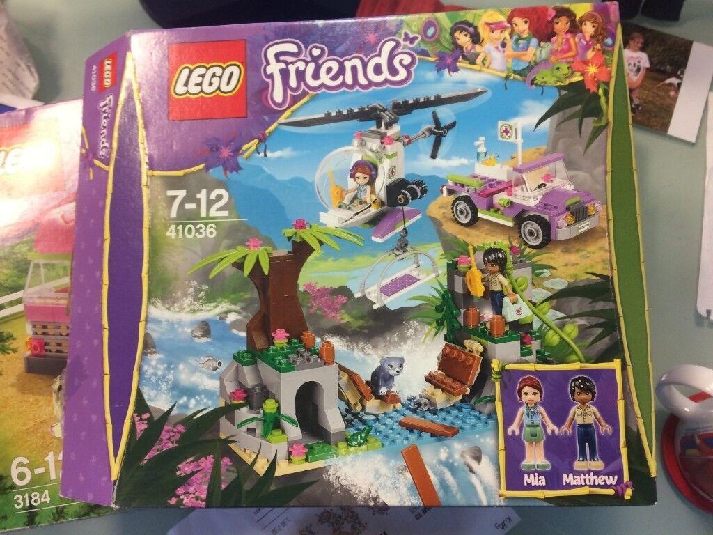 Lego Friends 41036 Jungle Bridge Rescuer Complete With Instructions