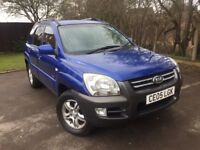 2005 05 Kia Sportage 2.0 XE 4X4 S/History Half Leather A/C 2 keys Drives Great Nice Clean and Tidy