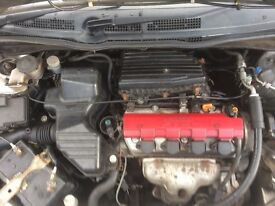 Honda civic 1,6 petrol