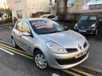 2008 08 plate Renault Clio 1.1 dynamique, new mot, lovely clean car just 70k