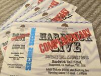 AVAILABLE AGAIN Hardwick live Sunday adult tickets