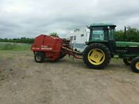 Round hay bailer welger rp12s