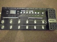Line 6 POD X3 Live Guitar pedal/audio interface