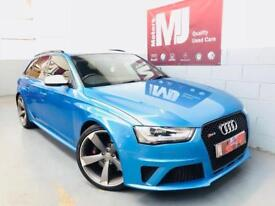AUDI RS4 AVANT ** ONLY 24 k** KINGFISHER BLUE