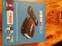 2 unused Now Tv Sky set top boxes for sale.