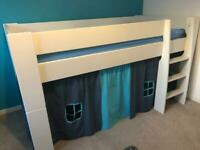 Kids mid sleeper bed - good condition
