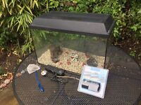 70 Litre Fish Tank and accessories
