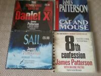 4 JAMES PATTERSON AUDIO BOOKS