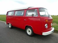 Restored VW T2 Late Bay Campervan