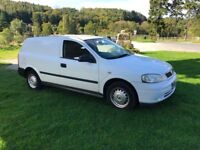 vauxhall astra van 1,7 dti , recent new clutch ,runs and drives perfect , very reliable van