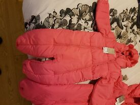2 girls snow suits BNWT Next