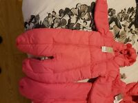 2 girls snow suits BNWT Next