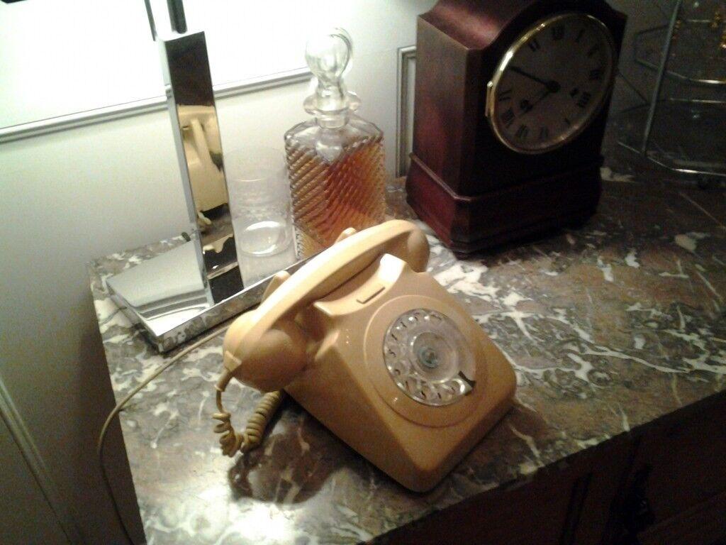 Vintage original 1960's/1970's period telephone. Retro