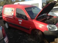 Citroen berlingo breaking for parts