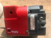 Riello RDB2.2 Oil Fired Burner in Excellent Condition.14.3-26.3Kw Output. Fully Overhauled.