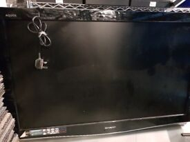 """Sharp AQUOS LC42XD1E 42"""" 1080p HD LCD Television Freeview"""