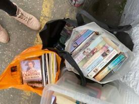 Books elvis, new boxing, HarryPotter frank sinartra many more £1 each job lot price gone ASAP