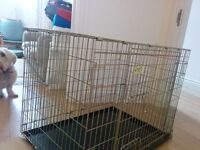 Croft dog crate or pen for small to medium size dog - great for puppy toilet training