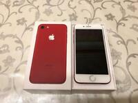 Apple IPHONE 7 *256GB* UNLOCKED LIMITED RED EDITION**