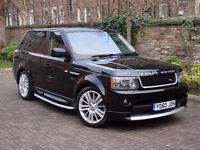 EXCELLENT EXAMPLE! 2010 RANGE ROVER SPORT 3.0 TD V6 HSE AUTOBIOGRAPHY AUTO FULLY LOARDED, WARRRANTED