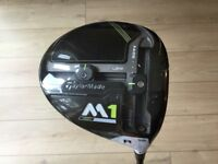 New Taylormade M1 460 Driver