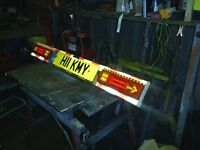 used 4ft LED lightboard bright led lights and long lead ideal for boat or jetski trailer