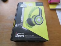 Monster iSport Freedom Wireless Bluetooth On-Ear Headphones – Green
