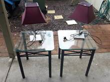 Two bed side tablestwo  + bed side lamps Scarborough Stirling Area Preview