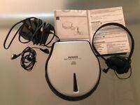 Rare Aiwa XP-270 1 BIT DAC Personal CD Player Discman