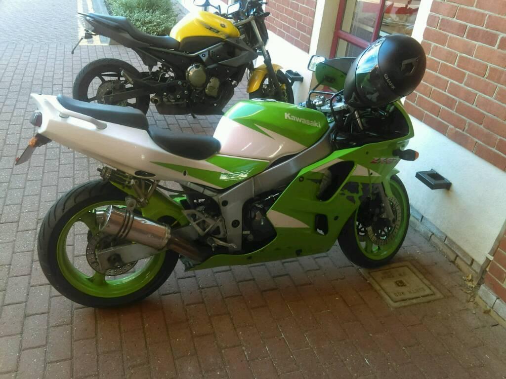 Kawasaki Ninja ZX6r 1996 600cc Motorcycle