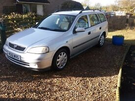 Vauxhall Astra Est. 1.7 D in good condition