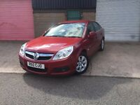 Vauxhall/Opel Vectra 1.9CDTi 16v ( 150ps ) auto 2007MY DESIGN RED AUTOMATIC DIESEL PRIVATE PLATE INC