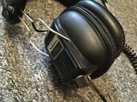 Vintage Malcuna Stereo Headphones - Made in Japan