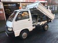 2010 piaggio porter small tipper pick up truck only 35k NO VAT