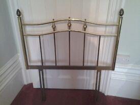 Brass single bed head