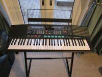 Yamaha Portatone PSR-48 Keyboard and Stand