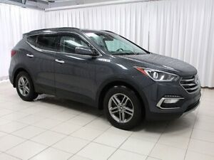 2017 Hyundai Santa Fe ONE OWNER TRADE - ALLOYS - A/C - CRUISE -