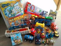 Toy Bundle for age 1-4, excellent condition, £20, includes Aquadoodle, climbing car, transporter