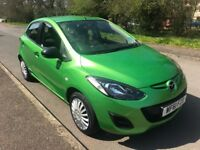 MAZDA 2 TS - 5dr - Green - low mileage - 61 plate