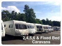 2,3,4,5,6 Berth Caravans For Sale in Maidstone Kent
