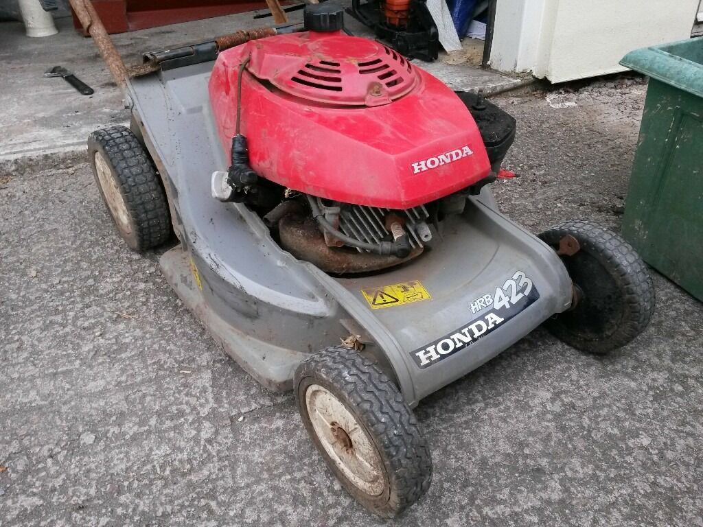 honda hrb 423 mower for spares in bridgend gumtree. Black Bedroom Furniture Sets. Home Design Ideas