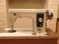 Working 1970s vintage sewing machine