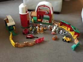 Happyland Farmyard and people from ELC