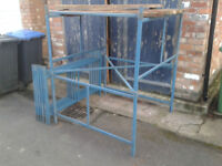 Steel DiY Scaffold tower 4ft x 4ft 10ft/3m High £100