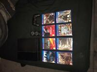 PS4 complete with 8 games !!!