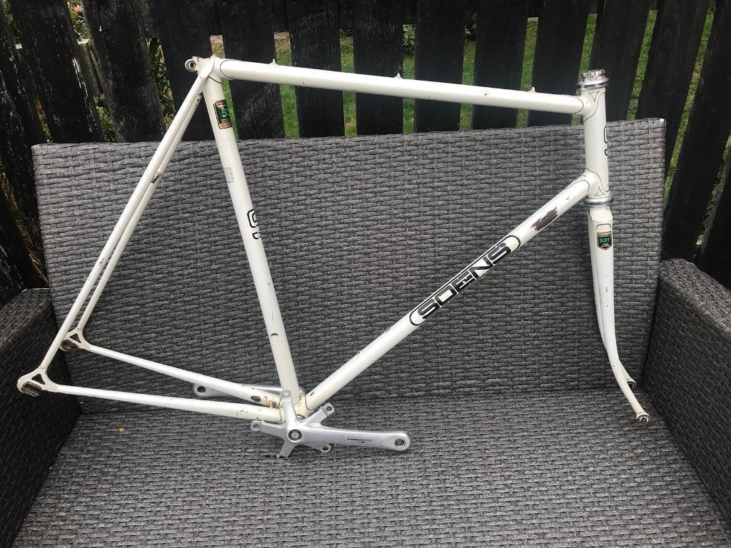 Vintage Soens Of Liverpool Reynolds 531c Road bike racing frame ...