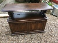 Solid Oak Monks Chest (Lots of Storage)