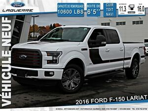 2016 Ford F-150 *LARIAT*ENSEMBLE DECOR*TOIT*NAV*165/SEMAINE**
