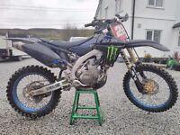 Yamaha yzf450 2010